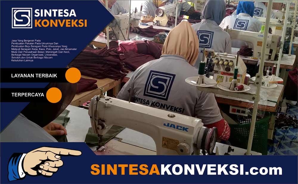 Vendor Baju Pembuatan Seragam Kerja di Sintesa Konveksi Tempatnya